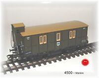 4500  Märklin  -   Bahnpostwagen  PMS 60-01   2-Achser -  500 Jahre Post KPEV