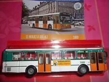 n° 71 HEULIEZ O 305 HLZ  Autobus et Autocar du Monde année 1969 1/43 Neuf Boite
