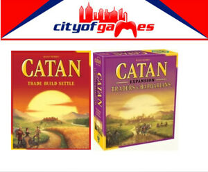 Catan Trade Build Settle & Traders & Barbarians 5th Edition Board Game Bundle