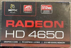 Radeon HD 4650 (Brand New Open Box) 512MB GDDR2 Memory - HD-465X-YA