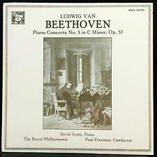 David Syme - Beethoven Piano Concerto No 3 LP Mint- MHS 4694 Vinyl 1983 Stereo