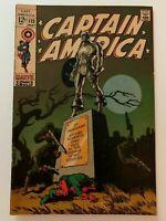 Captain America #113, FN+ 6.5, Jim Steranko Story and Art