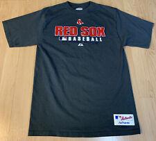 "BOSTON RED SOX  ""MAJESTIC"" T-SHIRT SHORT SLEEVE TEE MEN'S SIZE MEDIUM Gray ⚾️"