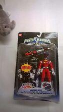 Power Rangers in Space: Red Astro Ranger w/Bonus Mighty Morph Black Ranger CIB