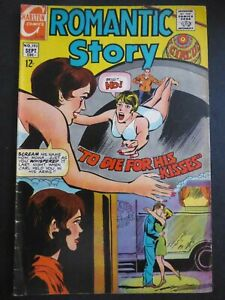 Romantic Story #102 ~ (1969 Charlton) ~Circus / Trapeze story  ~ VG
