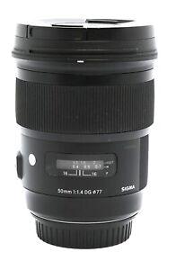 Sigma 50mm F1.4 Art DG Lens for Canon