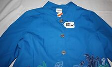 CHICO'S WOMEN TOP/OUTER WEAR SIZE-18w. TAG NO.186w
