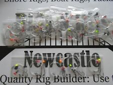 Sea fishing Rigs x 30: Pulley Pennels: Strong Quality Winter Shore / Boat Rigs