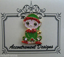 Accoutrement Designs Christmas Elf Needle Minder Magnet Mag Friends Cross Stitch