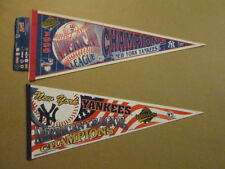 MLB New York Yankees Lot of 2 1996 AL Champs Pennants
