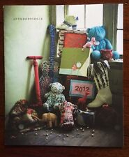 Anthropologie Catalog 2012 Gift Edition