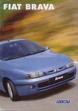 Fiat Brava 80 100 115 TD 75 100 JTD SX HSX ELX 1999-2002 Original UK Brochure