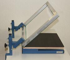 Siebdruck-Set, Textildruck, T-Shirtdruck, Drucktisch, screen printing machine