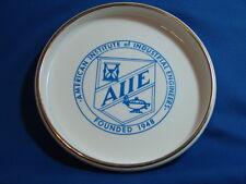 "VINTAGE ADVERTISING ASHTRAY  AMERICAN INSTITUTE OF INDUSTRIAL ENGINEERS ""AIIE"""