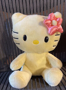 Hello Kitty Build A Bear Smallfrys Plush Stuffed Yellow Sanrio 2013 Soft BABW
