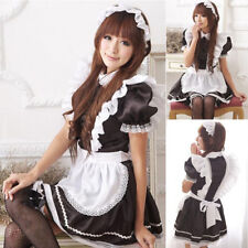 Sexy Cosplay Babydoll Lolita French Maid Fancy Halloween DS Costume Dress
