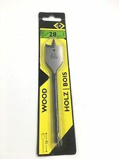 C.K TOOLS 28MM WOOD FLAT DRILL BIT T2942-28