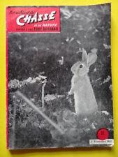 Les Cahiers de Chasse 32 1957 petit tétras grue lapin ours chien chamois caille