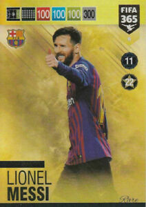 PANINI ADRENALYN FIFA 365 2018 2019 18 19 CARD N.6 MESSI BARCELONA TOP MASTER