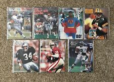 Lot of 7 Beckett Football Monthly Price Guide Bo/Barry/Montana/More!