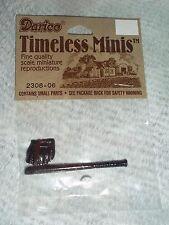 Darice Timeless Minis Metal Miniatures Baseball Mitt, Bat, & Ball