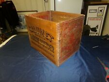 Antique Calumet Baking Powder wood box