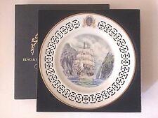 Limited Edition B & G Bing Grondahl Windjammer Plate Radich Ship in Box