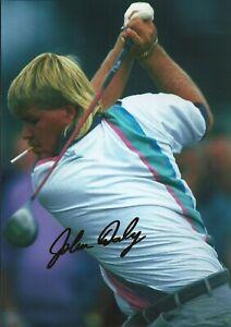 John Daly Autographed signed photo