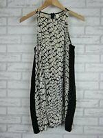 BC THE LABEL Dress Sz AU6 Grey, Black print