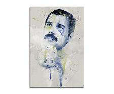 90x60cm Paul Sinus Splash tipo dipinto arte immagine Freddie Mercury IX Aqua