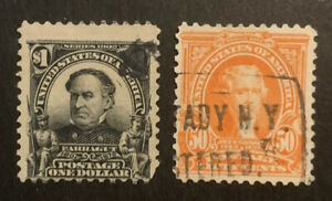 TDStamps: US Stamps Scott#310 311 Used