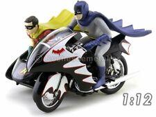 Batman Classic Série TV Modèle Batcycle 1 12 Hot Wheels Elite Die Cast Model