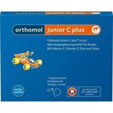 ORTHOMOL Junior C plus Direktgranulat  Himbeer/Limette  7 st   PZN10013222