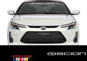 "Windshield Banner Decal 36"" Sticker For SCION race xb tc iq xd"