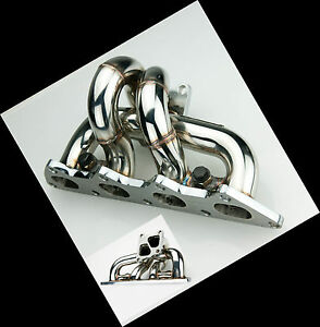 STAINLESS STEEL TURBO EXHAUST MANIFOLD FOR MITSUBISHI EVO 4G63 4 5 6 7 8 9