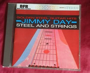 JIMMY DAY: GOLDEN STEEL GUITAR HITS / STEEL AND STRINGS CD 1992 BEAR FAMILY