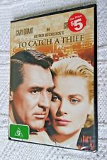 DVD to Catch a Thief Cary Grant Grace Kelly Hitchcock 1954 Thriller R4 BNS