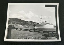 Vintage Photo Ms Oslofjord Cruise Ship Photograph Norwegian America Line N.A.L