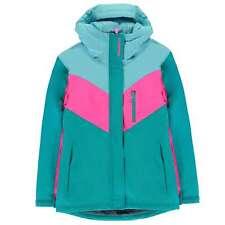 Campri Ski Jacket Youngster Girls Coat Top Full Length Sleeve Hooded Zip Zipped