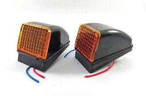 Set of 2 pcs Amber Cabin Cab Marker Light Lamp for VOLVO FH-FM Version 2 (02-09)