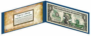 WISCONSIN State $1 Bill *Genuine Legal Tender* U.S. One-Dollar Currency *Green*