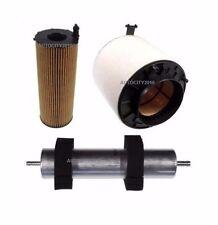Per AUDI a4 b8 3.0tdi ALLROAD AVANT 3pc Kit Di Servizio Olio/Aria/Filtro Diesel 08-12