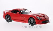 Dodge Viper SRT GTS 2013 rot 1:18 Maisto 531128 neu & OVP