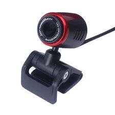 USB 2.0 HD Webcam Camera Web Cam With Mic 30fps For Computer PC Laptop Desktop *