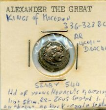 336-323 ALEXANDER THE GREAT SILVER COIN!!..STARTS@ 2.99