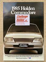 1985 Holden Commodore original Australian sales brochure (sticker)