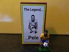 Hand painted Football metal cast figure Pele MIB