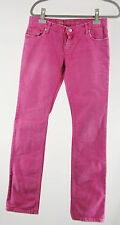Zadig & Voltaire Jeans 28 pink London stretch Hose pants pantalon Baumwolle