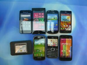 Lot of 8 Display Model Toy Cell Phone Nonworking