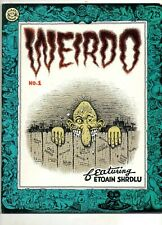 Weirdo # 1 2nd Print, Underground Comix, R Crumb, Peter Brueghel; Last Gasp NICE